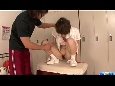 Akina hara endures hardcore with a strong man 6