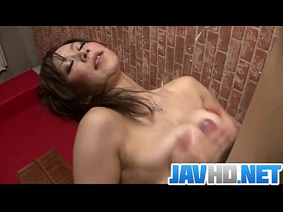 Bikini Busty Cock video: Busty Japanese strokes cock and sucks it like crazy