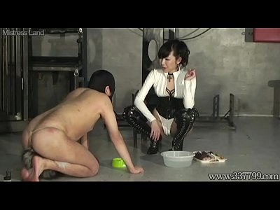 Japanese Bdsm Femdom video: Japanese Femdom Shion dominates her slave training like a dog