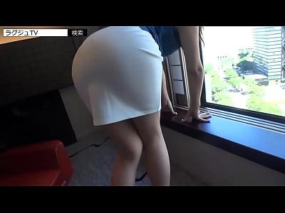 【りこ/28歳/受付嬢】昼下がりの危ない遊び(セックス)を堪能する人妻【ラグジュTV】