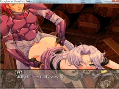 【エロアニメ】 傭兵男のチンポでオマンコ突かれてヨガる酒場の女主人のセックス覗き見w