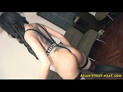 Amateur Hardcore Stockings video: Thai Anal Extensionanal