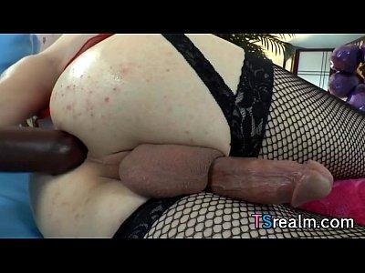 transexual le gusta darse por el culito con sus dildo