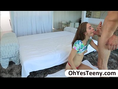 Teen Tali Diva in hardcore sex with big cock and showers cum