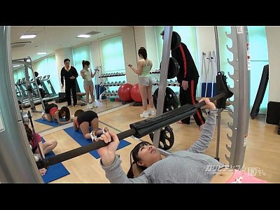 Asian Japanese Teen video: Time Fuck Bandits - stop the time at Gym
