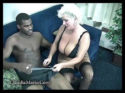 Pornstar Bigtits Bigass video: Saggy Tits Claudia Marie Fucked By Black Stud
