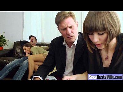 Hot Sexy Wife With Big Melon Tits Fucks clip 22