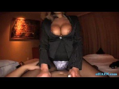 【巨乳OLナンパ動画】ピッチ風の派手な巨乳なギャルOLをナンパホテル直行で厭らしい濃厚セックス