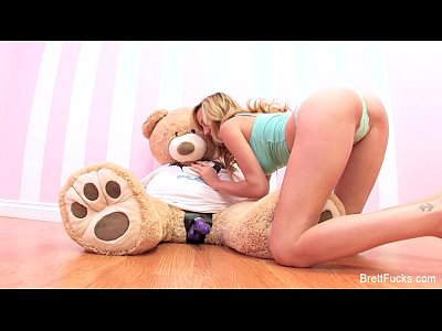 Boobs Toys Blonde video: Brett Rossi plays with strap-on dildo