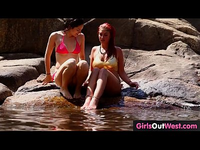Hairy Lesbians video: Lesbian assholes and cunts licked outdoors
