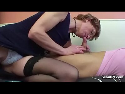 Hairy Hardcore Lingerie video: Mom with perfect body want to fuck german step-son !