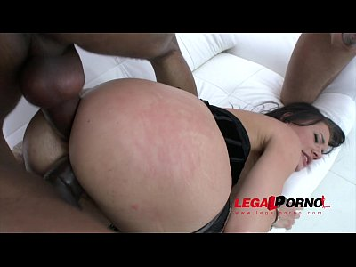 Deepthroat Bigtits Bigbooty video: Kitana Lure double anal with 3 massive black cocks (interracial DAP) SZ1033