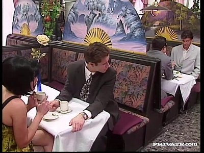 Gangbang Hardcore xxx: Rita Cardinale, Gangbang and Bukkake in the Restaurant