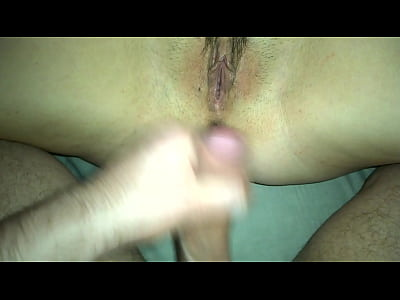 Creampie outside and inside