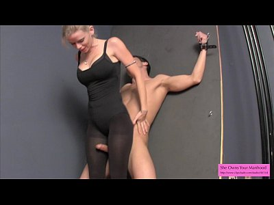 Pantyhose Highheels Ballbusting vid: Vanessa Plays with Lance Part 2