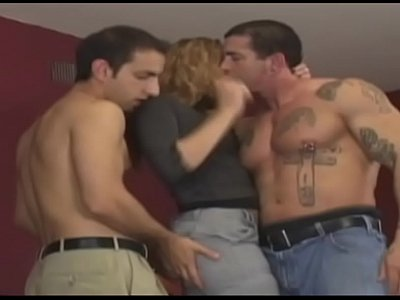 Anal Blowjob Boobs video: Horny and hot hooker can be fucked by three men in all holes.