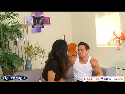 Hardcore Blowjob video: Fine looking Ariella Ferrera fuck her neighbor