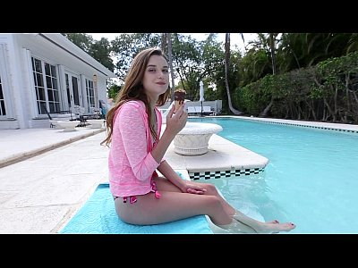 Alex Bangbros Bangbros18 video: Barely Legal Petite Cutie Drilled By The Pool