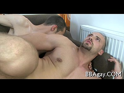 Cideos Gay Homosexual guy gives lusty anal lickings