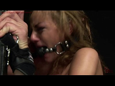 Domination Bondage Slave video: Tormented and dominated sex slave