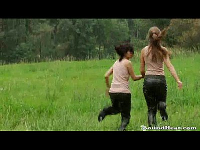 Babes Strapon movie: Two Girls Discovered Strapon