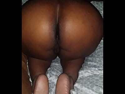 Anal Cumshot Ebony video: Real Amateur Cum Shot While Sleep After Anal Fucking