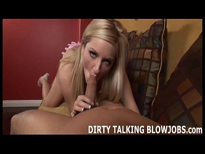 Hot blonde gives the best POV blowjob