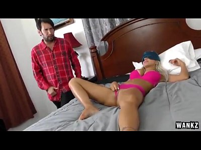 Sexy Blonde Stepmom Gets Fucked By Stepson