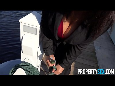 Bigass Bigcock Bigtits video: PropertySex - Busty real estate agent uses tits and ass to sell house