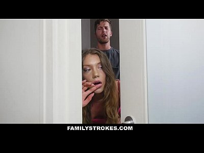 FamilyStrokes - Hiding & Fucking With My Step-Bro