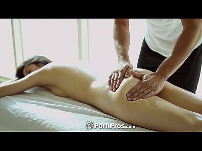 Asian Massage Blowjob video: PornPros - Hot Asian beauty Elana Dobrev gets a sexy rub down