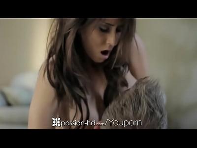 Facial Cumshot Bigtits video: Madison Ivy Sensual Yoga