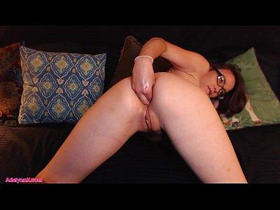 Fetish Milf video: AdalynnX - Taste My Fisted Cummy Ass!