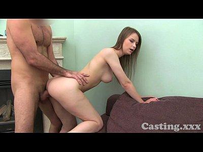 Blonde amateur gf dodges huge facial cumshot - 3 part 3