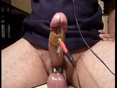 Sexo Gay Gratis electrocum e stim cbt sperm electro