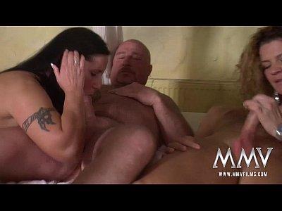 Amateur Blowjob Mature video: MMV FILMS Swinging Couples