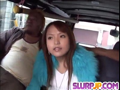 Asian Blowjob Busty video: Bang bus experience for insolent Miyo Kasuga