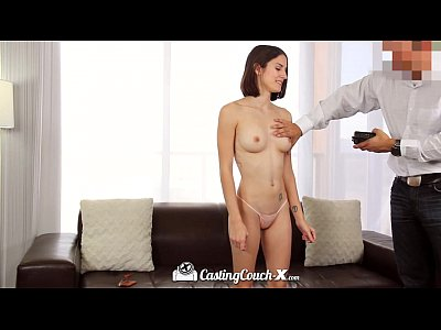 CastingCouch-X - Sweet Natural Ayn Marie tries her luck in porn