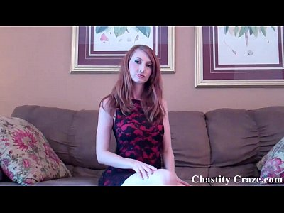 Chastity Chastitycage Chastityclips video: You are never going to jerk off again