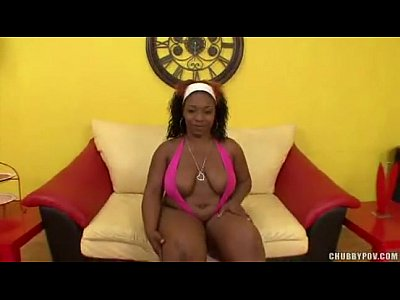 Bbw Black Ebony video: Ebony Sistah With Big Booty Sucks A Big WHITE Cock