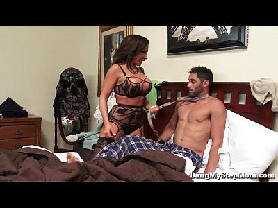Bigboobs Bigbooty Bigbreasts video: Horny Guy Goes Balls Deep In His Stepmom From SEXDATEMILF.COM