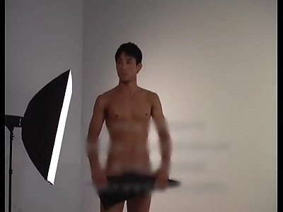 China Model Muscle video: sexy asain china muscle boy model solo