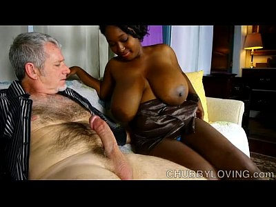 Beefy Belly Boobies video: Beautiful big tits black BBW gives an amazing blowjob