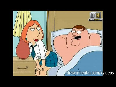 Porno video: Family Guy Hentai - Naughty Lois wants anal