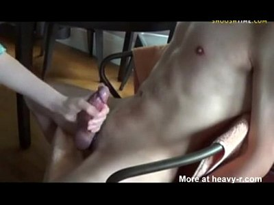 Cumshot Handjob Slave video: Multiple cumshots