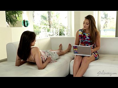 Babe Babes Brunette video: Dani Daniels and Shyla Jennings at GirlsWay