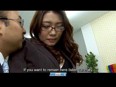 字幕-ボスファック彼女日本秘書伊吹