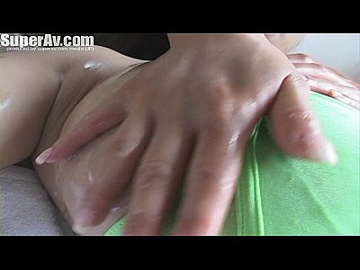 Asian big boobs massage technic with hitomi takana