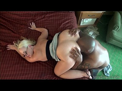 Blonde Blowjob Milf vid: Out of Town BBC