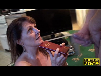 Stockings Spanking Mature video: Religious mature sub being ravaged